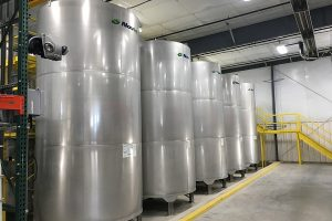 4 chemical tanks