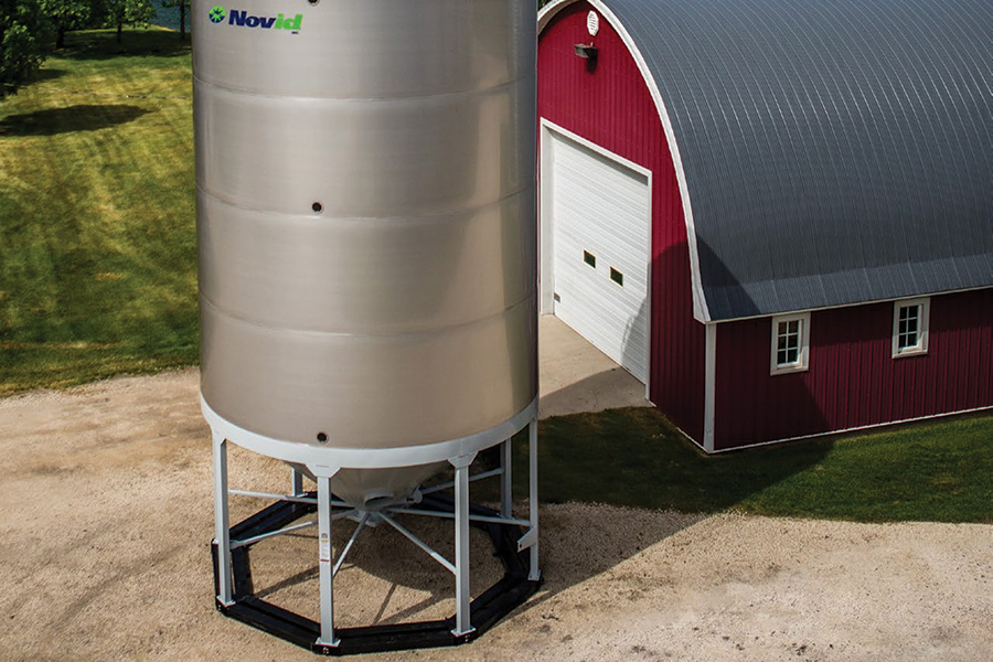 Hybrid Hopper Bottom Bins – Novid